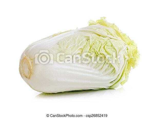 lettuce on white background - csp26852419