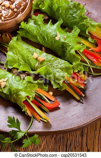 Lettuce wraps - csp20531543