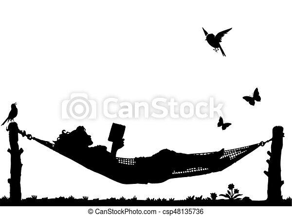 lettura donna - csp48135736