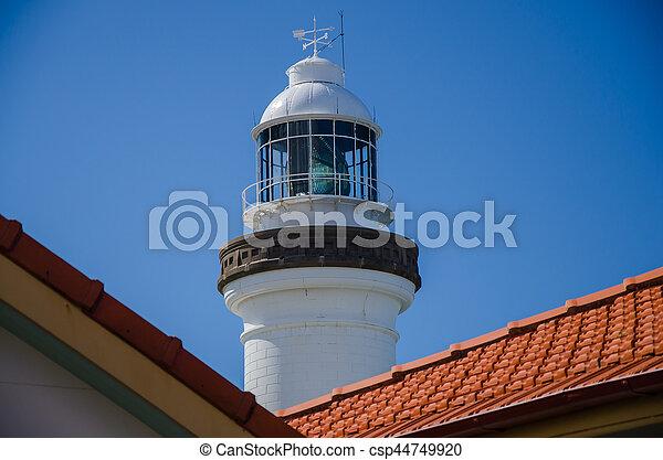 Leuchtturm in Byron Bay, Australien - csp44749920