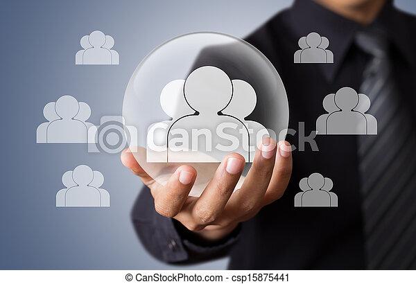 leven, concept, verzekering - csp15875441