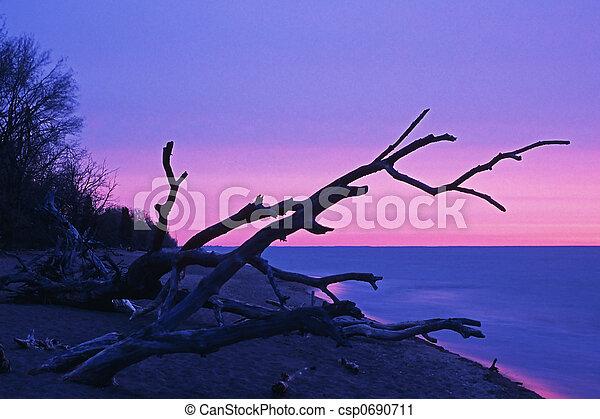 levers de soleil - csp0690711