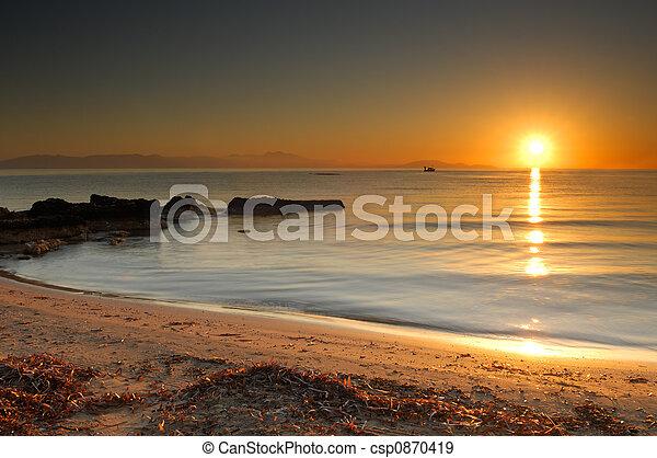 levers de soleil - csp0870419