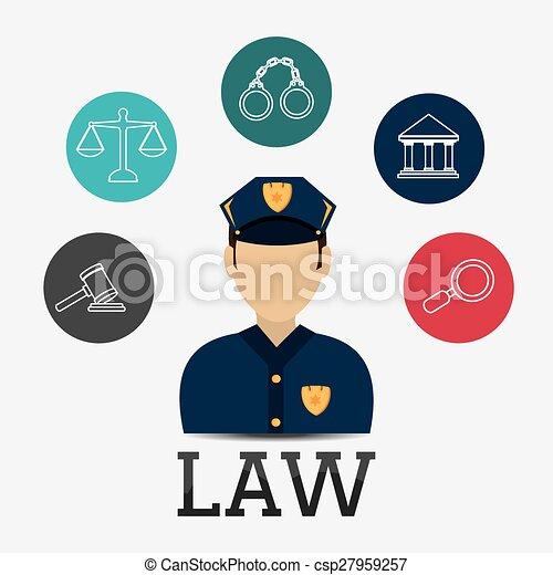 Diseño de leyes. - csp27959257