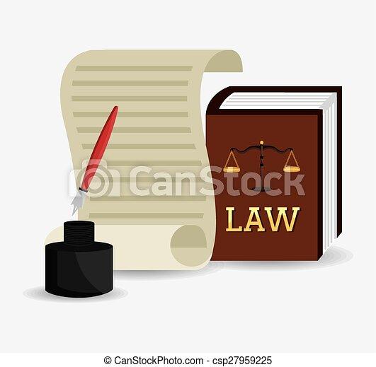 Diseño de leyes. - csp27959225
