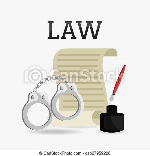 Diseño de leyes. - csp27959228