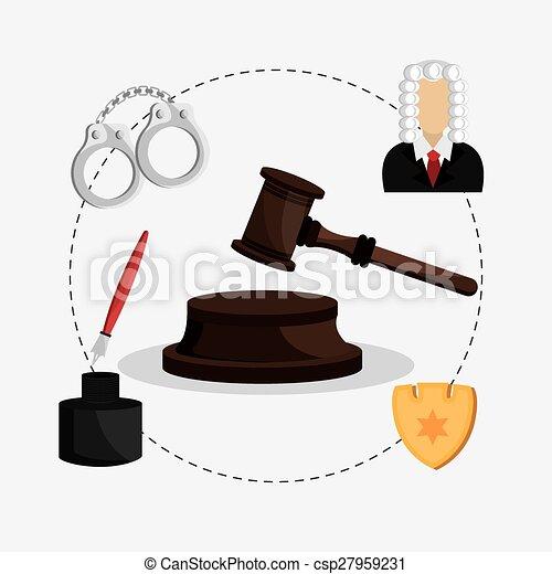 Diseño de leyes. - csp27959231