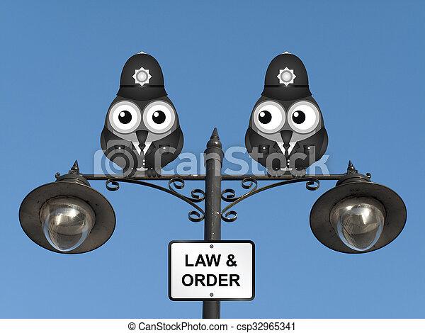 Ley y orden del Reino Unido - csp32965341