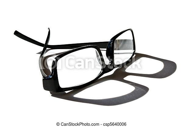 lezende glazen - csp5640006