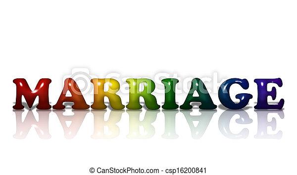 lgbt, házasság - csp16200841