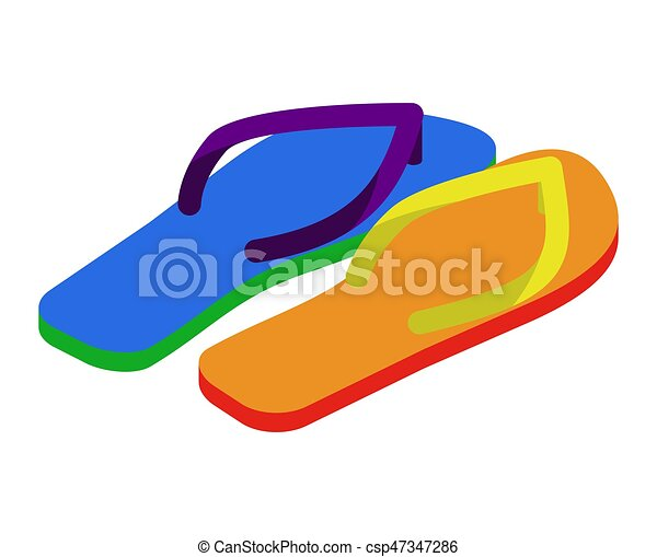 760a66cf332 Lgbt slippers. beach shoes colors of rainbow flag.