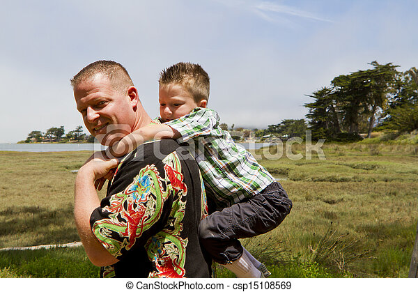 liaison, père, fils - csp15108569