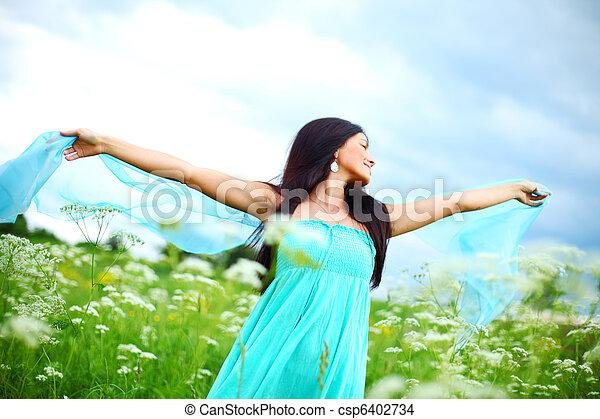 liberdade, natural - csp6402734