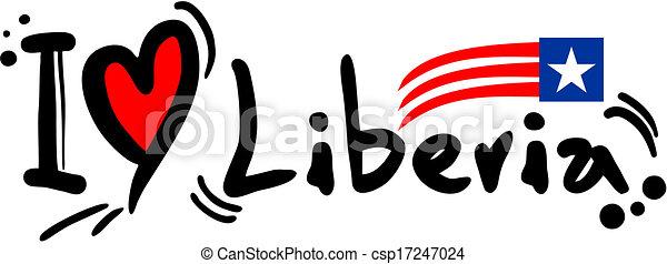 liberia, amore - csp17247024