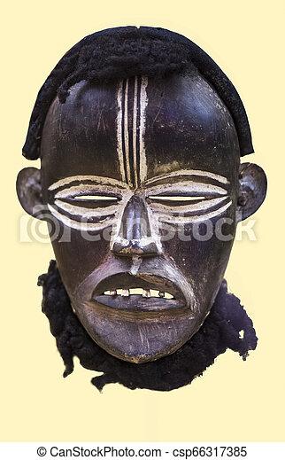Liberian African tribal mask - csp66317385