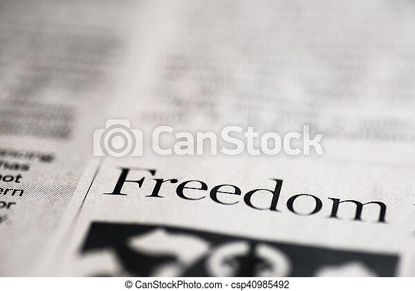 liberté - csp40985492