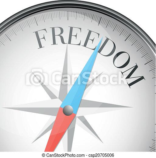 Libertad de brújula - csp20705006