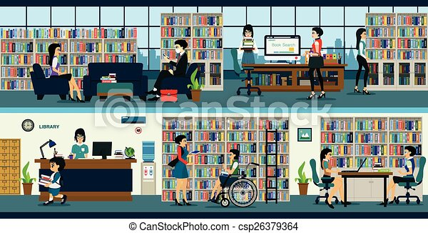 Library - csp26379364