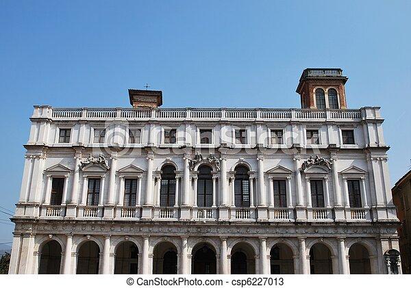 Library Palace, Bergamo - csp6227013