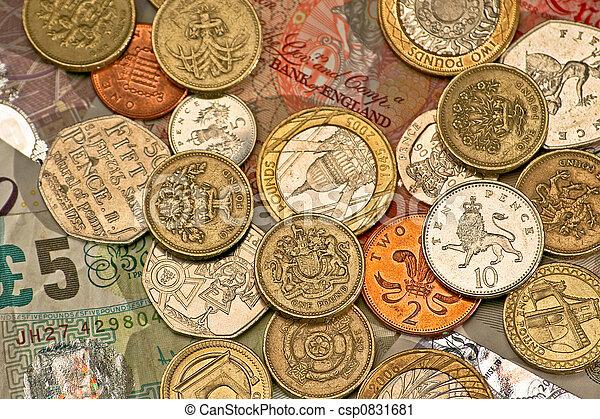 Libras británicas - csp0831681
