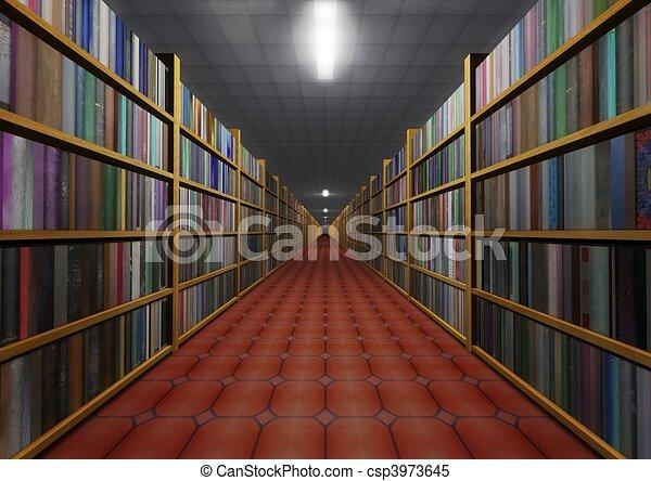 Una librería - csp3973645