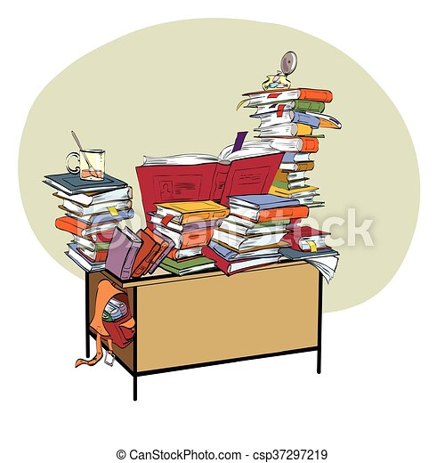 Libri scuola letteratura biblioteca scrivania scuola for Scuola clipart
