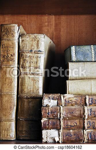 libri, vecchio - csp18604162