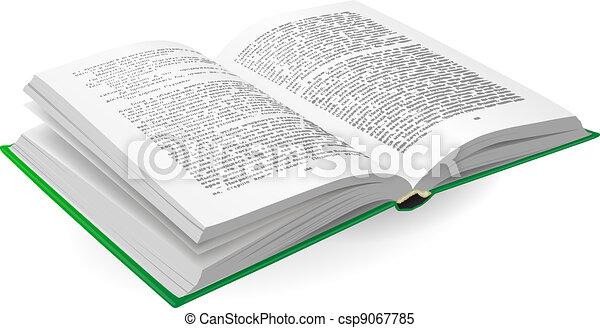 Libro abierto - csp9067785