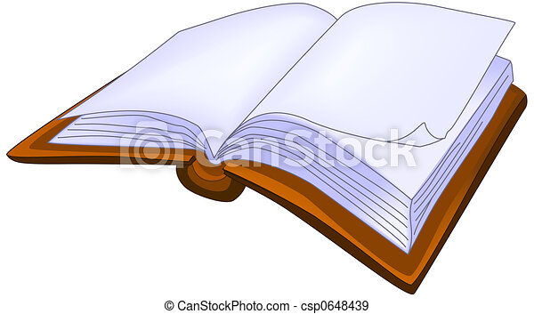 libro, abierto - csp0648439