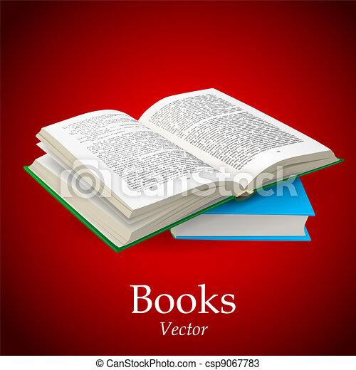 Libro abierto - csp9067783