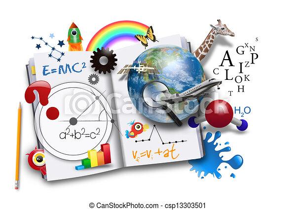 Libro de aprendizaje abierto con ciencia y matemáticas - csp13303501