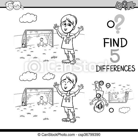 Libro colorear, preescolar, actividad. Niño, educativo, tarea ...