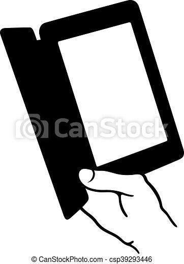 Lector de libros electrónicos - csp39293446