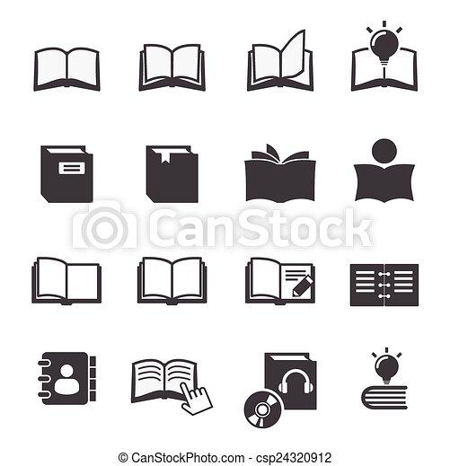 El icono del libro - csp24320912