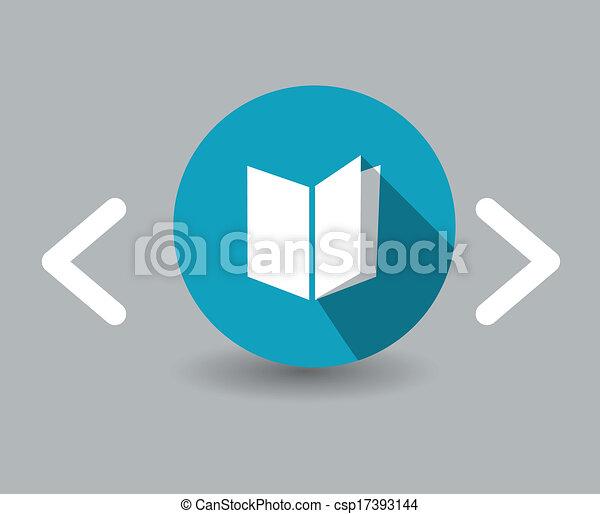 El icono del libro - csp17393144