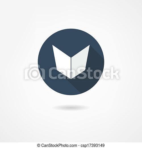 El icono del libro - csp17393149