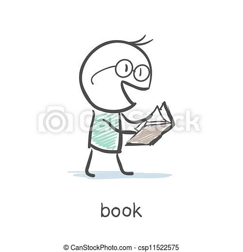 Lector de libros - csp11522575