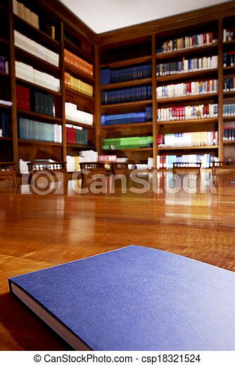 libro legge - csp18321524