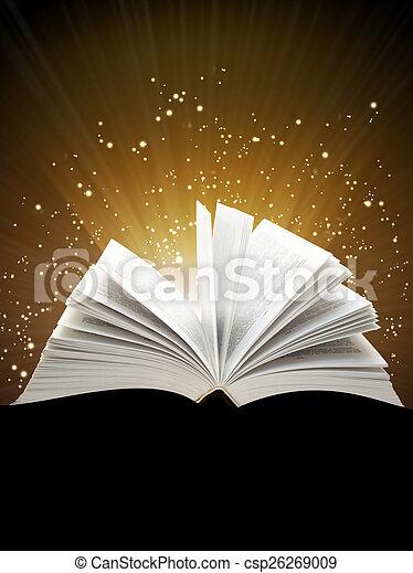 libro, magia - csp26269009