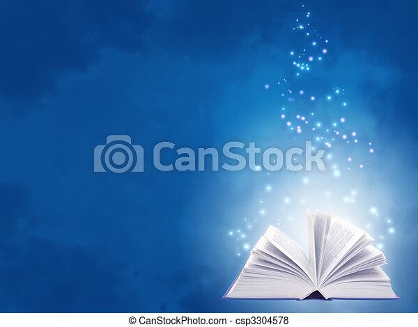 libro, magia - csp3304578