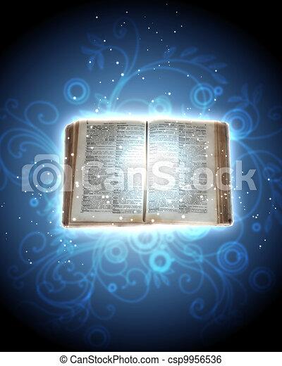 libro, magia - csp9956536