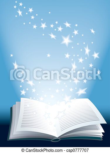 libro, magia - csp0777707