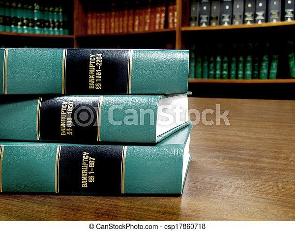 libros de ley, quiebra - csp17860718