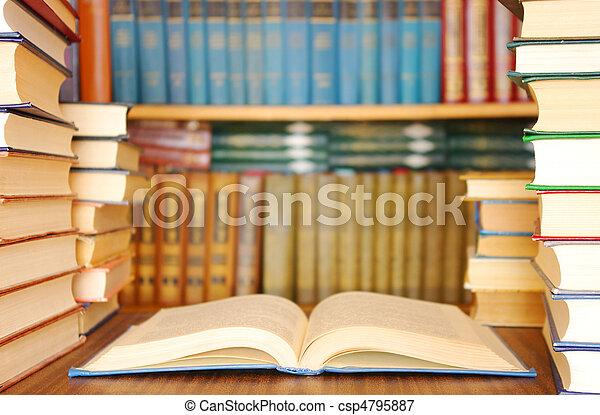 Libros de educación - csp4795887