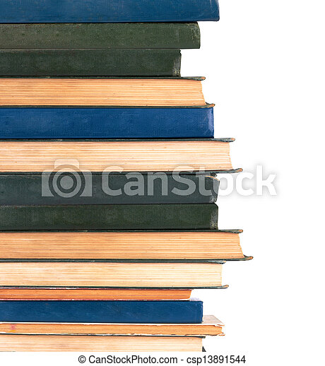 libros, fila - csp13891544