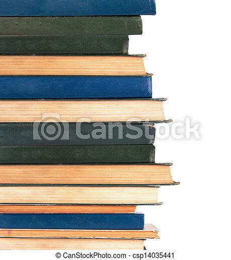 libros, fila - csp14035441