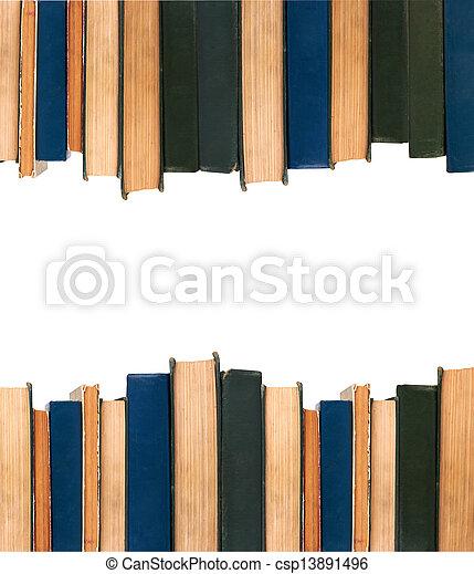 libros, fila - csp13891496