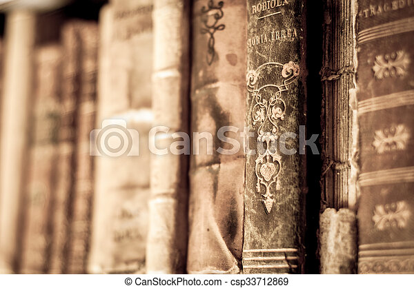 libros, fila - csp33712869