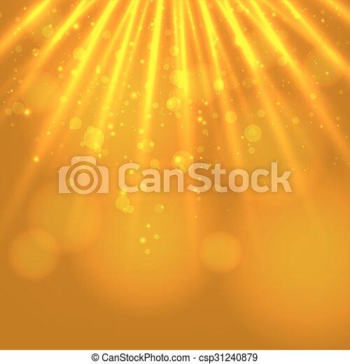 licht, abstract, magisch, achtergrond - csp31240879