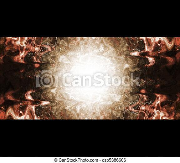 licht, abstract, magisch, achtergrond - csp5386606